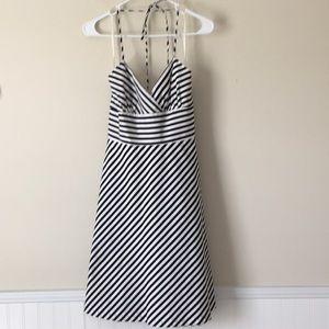 White House Black Market Striped Dress Size 6
